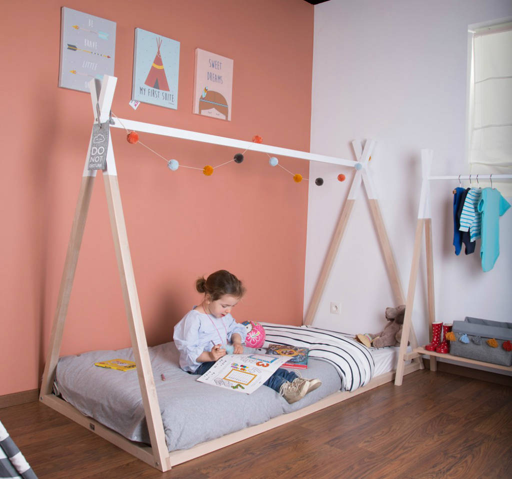 Great value Teepee Bed for little adventurers