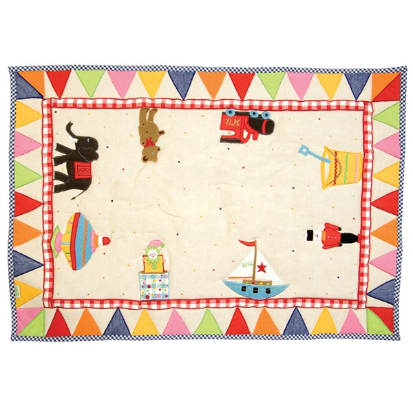 Beautiful Toy Shop Floor Quilt