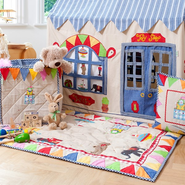 Toy Shop Quilt Floor Cover