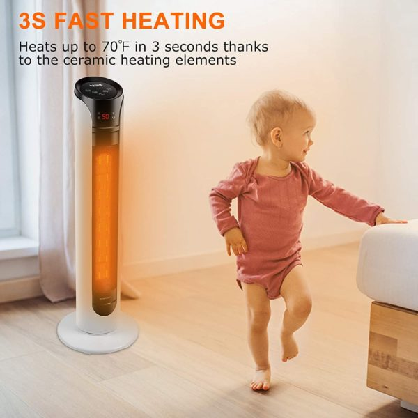 Space Heater with Overheat Protection