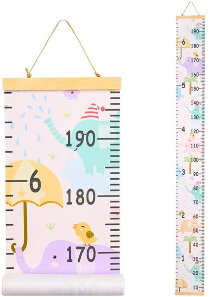 Basumee Height Chart for Little Ones Walls