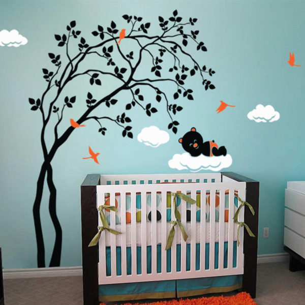 Super stylish tree decal