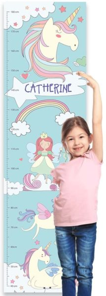 Paper Themes Personalised Childrens Height Chart