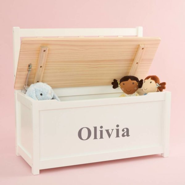 Personalised toy box and bench
