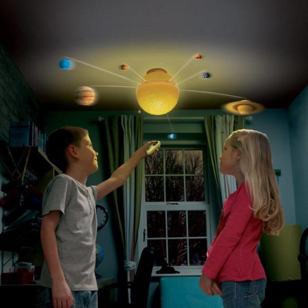 Illuminated Solar System Light
